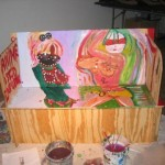 painted_love_seat