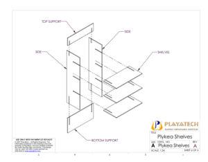 Plykea Shelves Assembly6